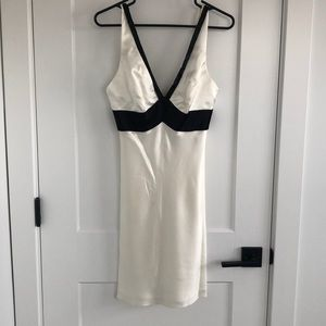 ABS cocktail dress, size 4